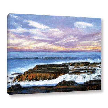 Brushstone Brushstone Rolling Water Gallery Wrapped Canvas Wall Art