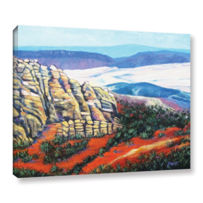 Brushstone Rocky Mountain Living Gallery Wrapped Canvas Wall Art