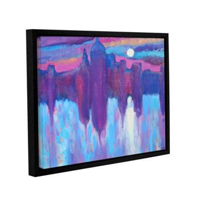 Brushstone Venice Gallery Wrapped Framed Canvas Wall Art
