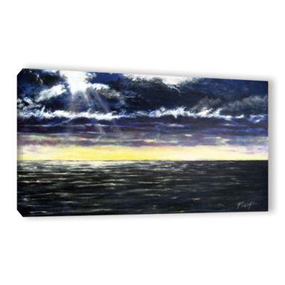 Brushstone Ravage Sea Gallery Wrapped Canvas WallArt