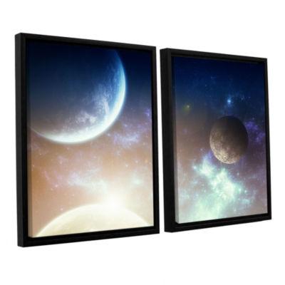Brushstone Nova 2-pc. Floater Framed Canvas Wall Art