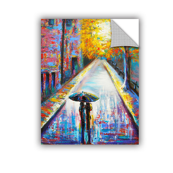 Brushstone Paris Back Street Magic Removable WallDecal
