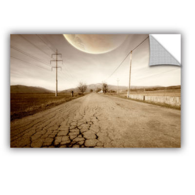 Brushstone Brushstone The Road-Planet Side Removable Wall Decal