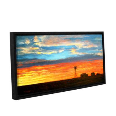 Brushstone Brushstone Farmville Gallery Wrapped Floater-Framed Canvas Wall Art