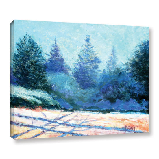 Brushstone Brushstone Tree Side Gallery Wrapped Canvas Wall Art