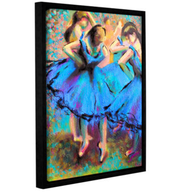 Brushstone Brushstone My Degas Gallery Wrapped Floater-Framed Canvas Wall Art