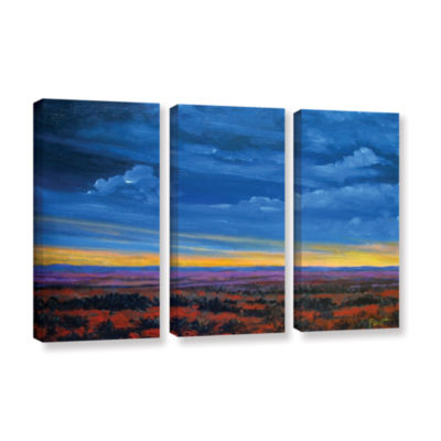 Brushstone Brushstone Shadow moses 3-pc. Gallery Wrapped Canvas Wall Art