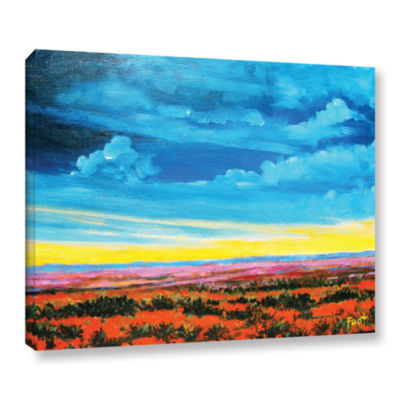 Brushstone Riders on the Storm GalleryWrapped Canvas Wall Art