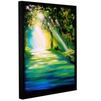 Brushstone Brushstone Misty Morning Gallery Wrapped Floater-Framed Canvas Wall Art