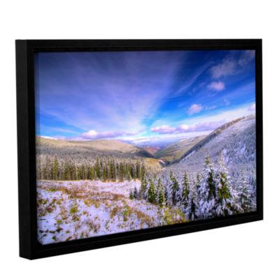 Brushstone Brushstone Winter Lands II Gallery Wrapped Floater-Framed Canvas Wall Art