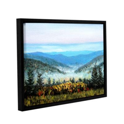 Brushstone Brushstone Hidden Valley Gallery Wrapped Floater-Framed Canvas Wall Art