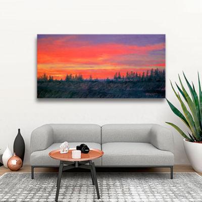 Brushstone The Winter Sun Canvas Art