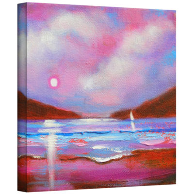 Brushstone Brushstone Sail On Gallery Wrapped Canvas Wall Art