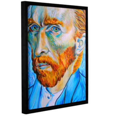 Brushstone My Own Private Vincent van Gogh GalleryWrapped Floater-Framed Canvas Wall Art
