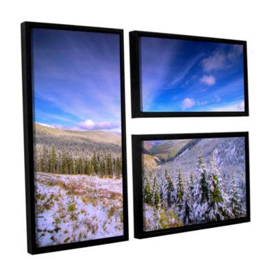 Brushstone Brushstone Winter Lands II 2-pc. Floater Framed Canvas Wall Art