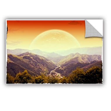 Brushstone Brushstone Highland Sunset Removable Wall Decal