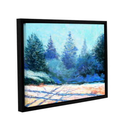 Brushstone Brushstone Tree Side Gallery Wrapped Floater-Framed Canvas Wall Art