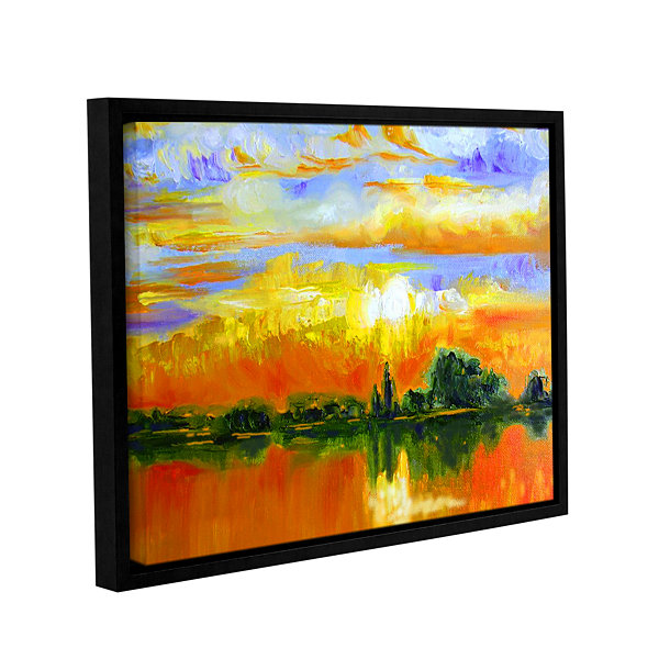 Brushstone The Zen of Italy Gallery Wrapped FramedCanvas Wall Art