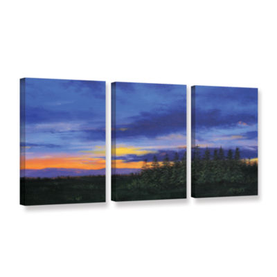 Brushstone Constellations 3-pc. GalleryWrapped Canvas Wall Art