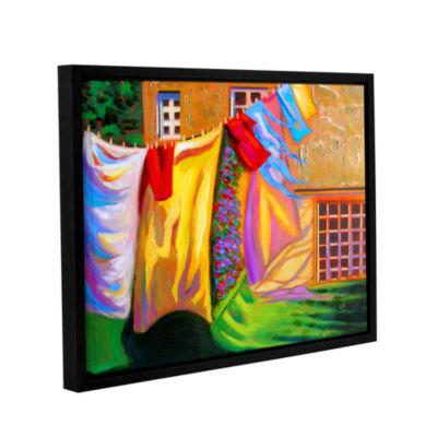Brushstone Brushstone French Laundry Gallery Wrapped Floater-Framed Canvas Wall Art