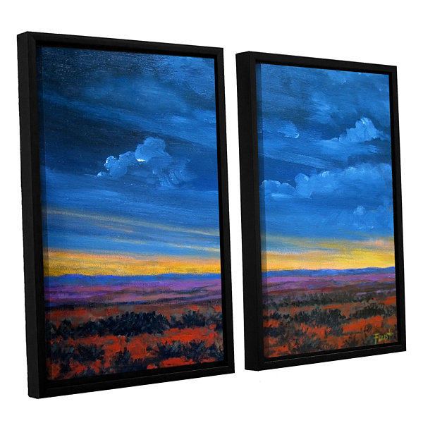 Brushstone Shadow moses 2-pc. Floater Framed Canvas Wall Art