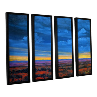 Brushstone Brushstone Shadow moses 4-pc. Floater Framed Canvas Wall Art