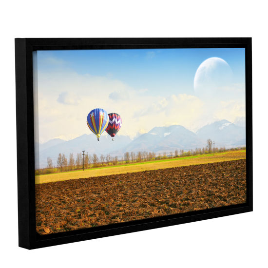 Brushstone Surreal September Gallery Wrapped Framed Canvas Wall Art