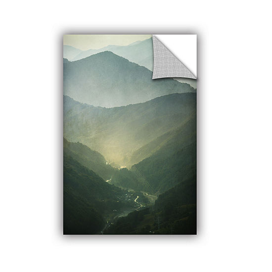 Brushstone Sunrise Valley Removable Wall Decal