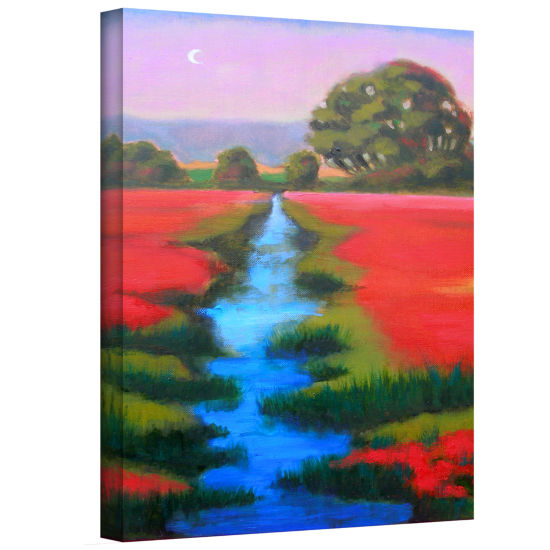 Brushstone Brushstone Provence Moonrise Gallery Wrapped Canvas Wall Art