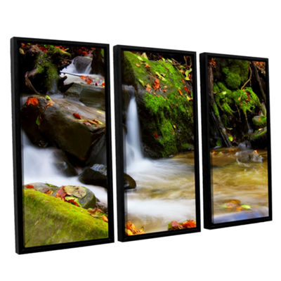 Brushstone Timeless Forest 3-pc. Floater Framed Canvas Wall Art