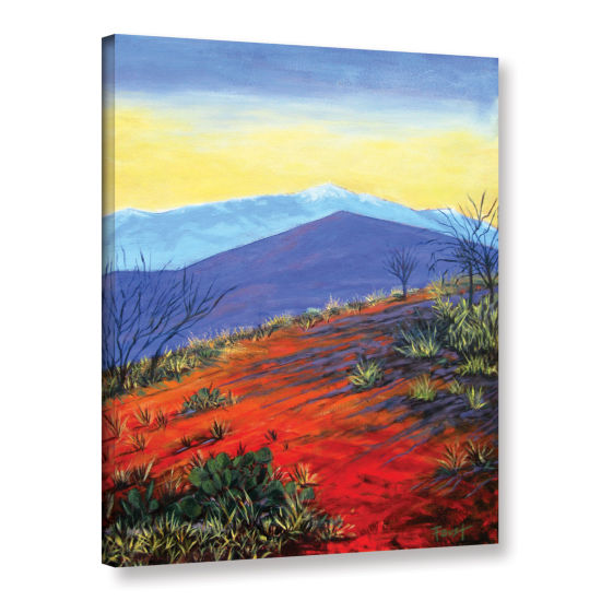 Brushstone Brushstone Solitaire Gallery Wrapped Canvas Wall Art