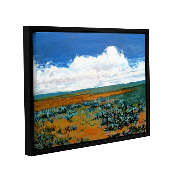 Brushstone Rolling Clouds Gallery Wrapped Framed Canvas Wall Art