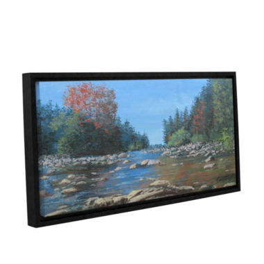 Brushstone Vices Gallery Wrapped Floater-Framed Canvas Wall Art