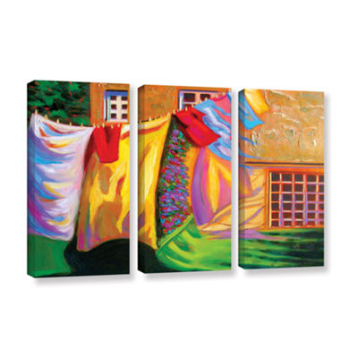 Brushstone Brushstone French Laundry 3-pc. GalleryWrapped Canvas Wall Art