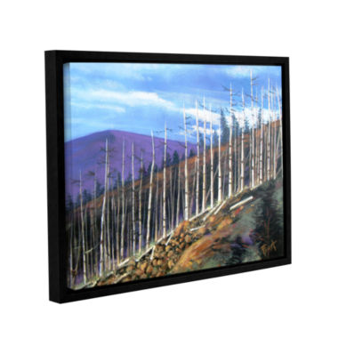 Brushstone First Sight Gallery WrappedFloater-Framed Canvas Wall Art