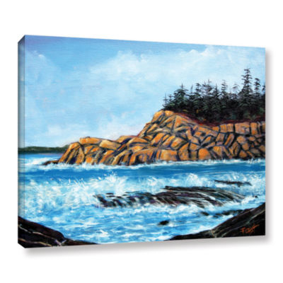 Brushstone Roll Tide Gallery Wrapped Canvas Wall Art