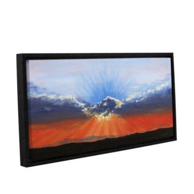Brushstone Brushstone Dream on a Dreamer Gallery Wrapped Floater-Framed Canvas Wall Art