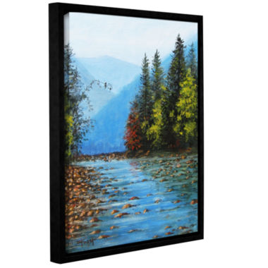 Brushstone Brushstone Purified Gallery Wrapped Floater-Framed Canvas Wall Art