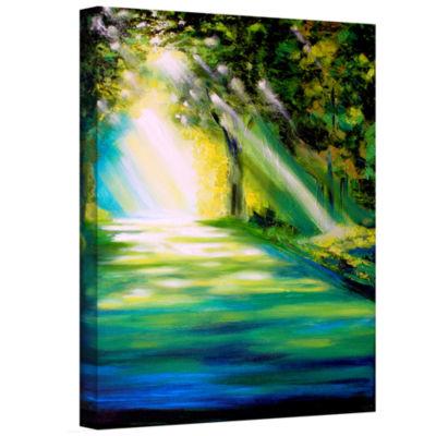 Brushstone Brushstone Misty Morning Gallery Wrapped Canvas Wall Art