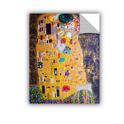 Brushstone Brushstone My Klimt Kiss Removable WallDecal