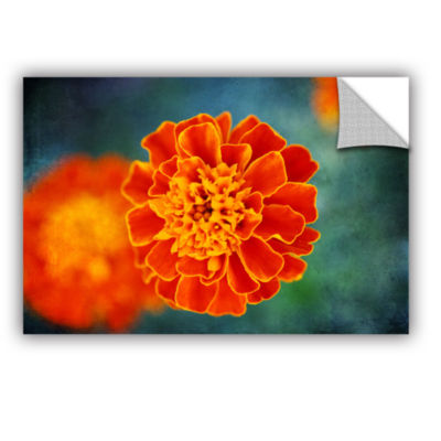 Brushstone Brushstone One in Orange Removable WallDecal