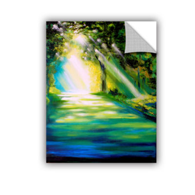 Brushstone Misty Morning Removable WallDecal