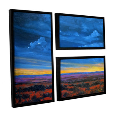 Brushstone Brushstone Shadow moses 3-pc. Floater Framed Canvas Wall Art