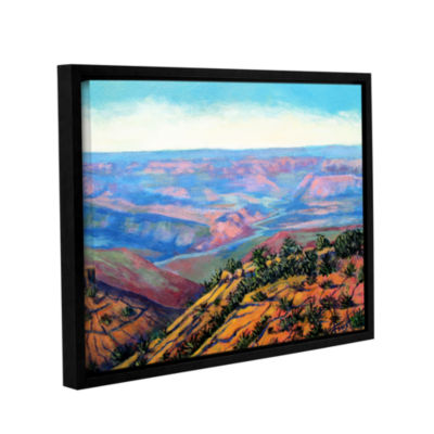 Brushstone Brushstone Valley View Gallery WrappedFloater-Framed Canvas Wall Art
