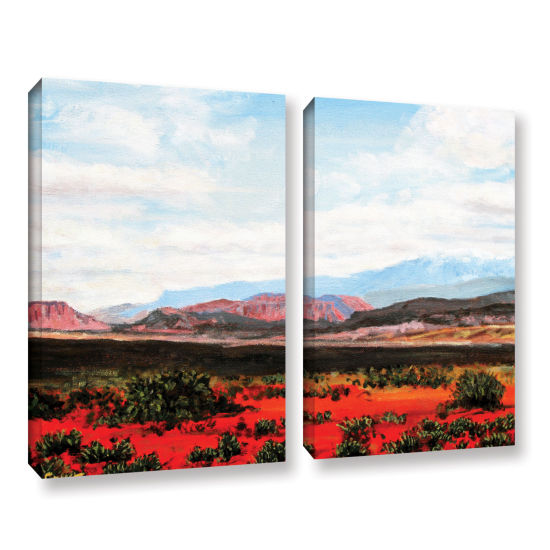 Brushstone Joyride 2-pc. Gallery Wrapped Canvas Wall Art