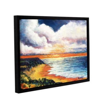 Brushstone Brushstone Summer Breeze Gallery Wrapped Floater-Framed Canvas Wall Art