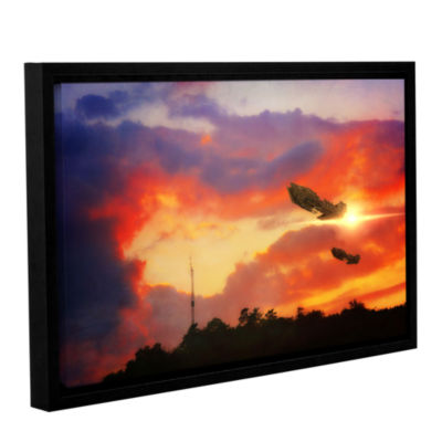 Brushstone Brushstone Eve of War Gallery Wrapped Floater-Framed Canvas Wall Art