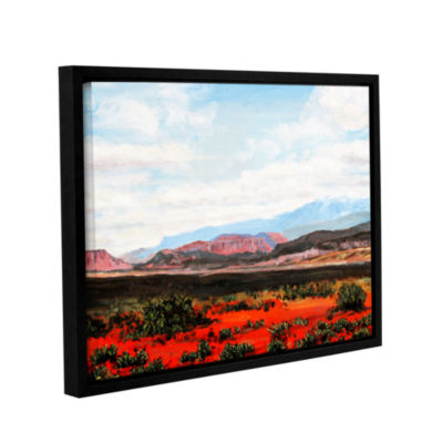 Brushstone Brushstone Joyride Gallery Wrapped Floater-Framed Canvas Wall Art