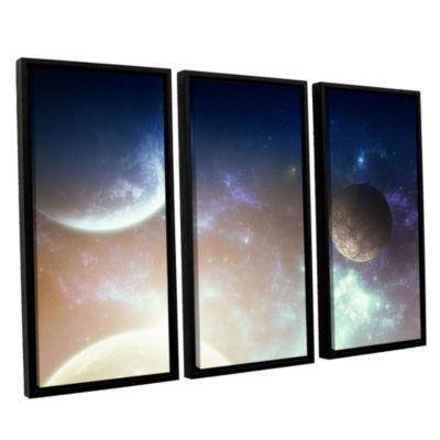 Brushstone Brushstone Nova 3-pc. Floater Framed Canvas Wall Art