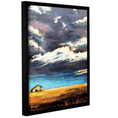 Brushstone Brushstone Lone Barn Gallery Wrapped Floater-Framed Canvas Wall Art